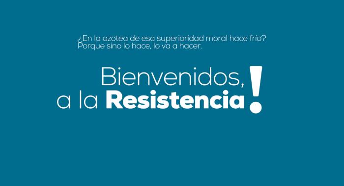 Bienvenidos a la resistencia ( Azagala 27/6/21)